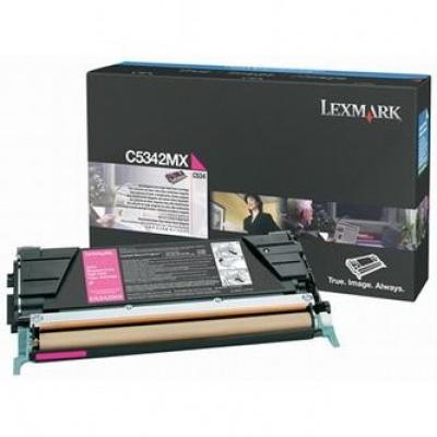 Lexmark C5342MX magenta original toner
