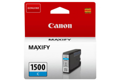 Canon original ink cartridge PGI-1500 C, cyan, 300 pages, 4.5ml, 9229B001, Canon MAXIFY MB2050,MB2150,MB2155,MB2350,MB2750,MB2755