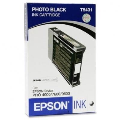Epson C13T543100 black original ink cartridge