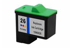 Lexmark 26 10N0026 color compatible inkjet cartridge